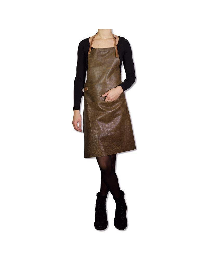 Keukengerei BBQ-STYLE APRONS - VINTAGE FULL GRAIN LEATHER - VINTAGE BROWN