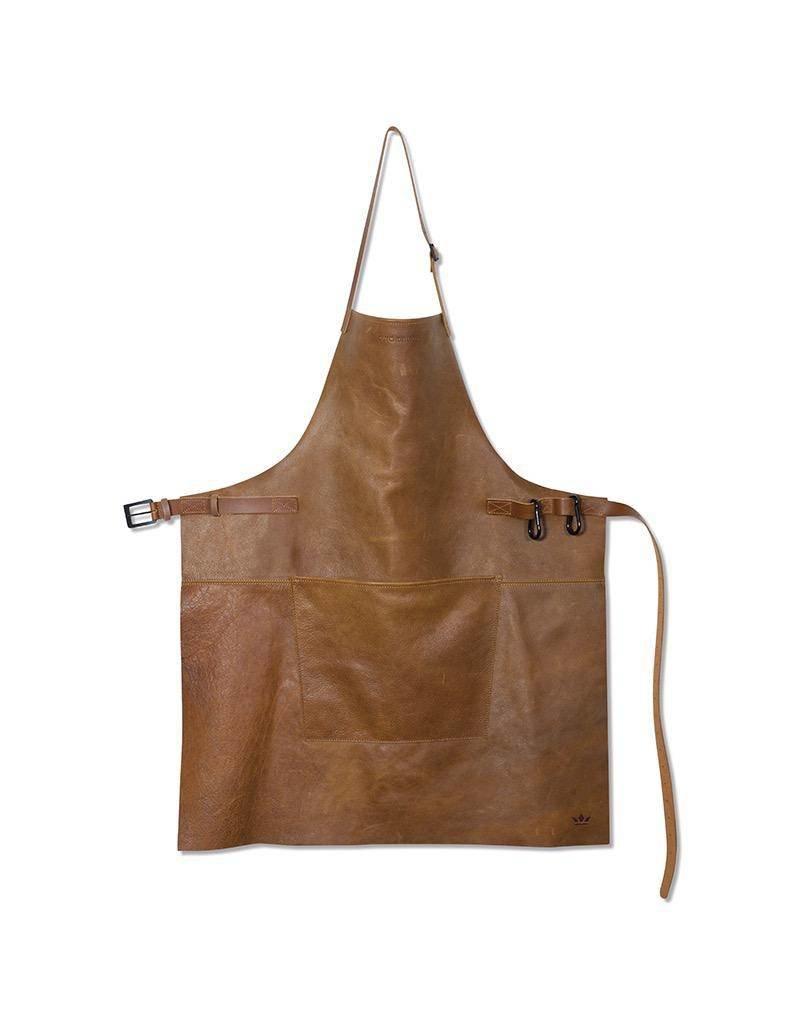 Keukengerei BBQ-STYLE APRONS - VINTAGE FULL GRAIN LEATHER - VINTAGE CAMEL