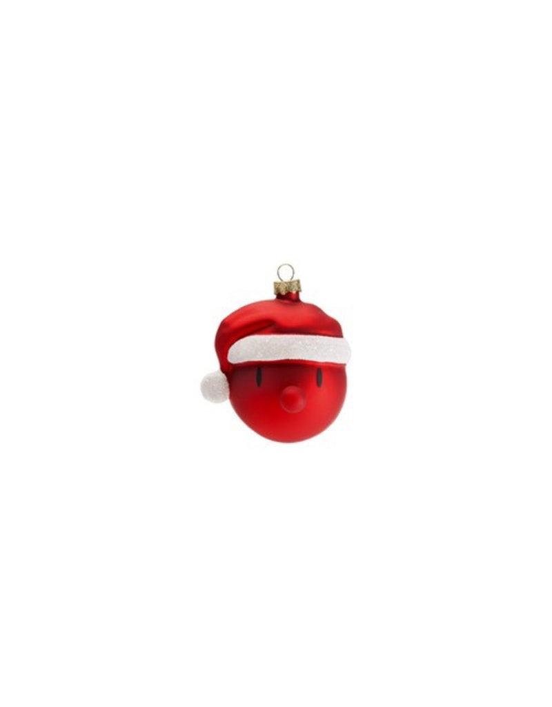 kerst MINI SANTA CHRISTMAS ORNAMENT  (3PCS)