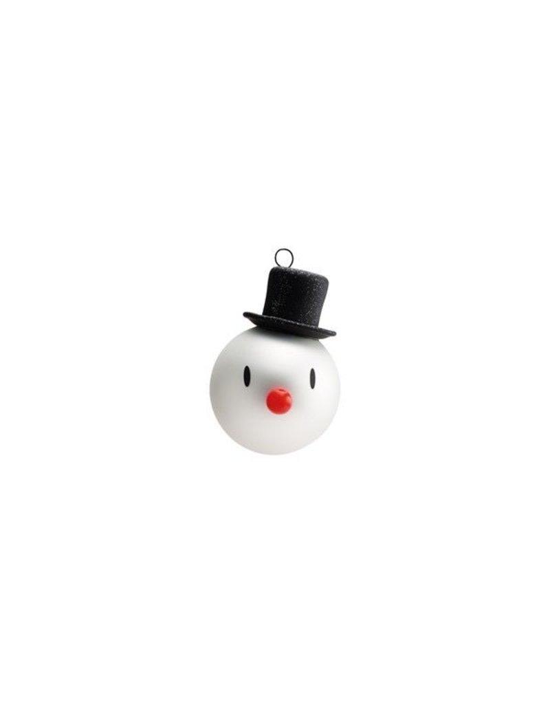 kerst MINI SNOWMAN CHRISTMAS ORNAMENT (3PCS)