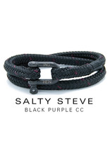 Juwelen SALTY STEVE BLACK PURPLE CC LARGE