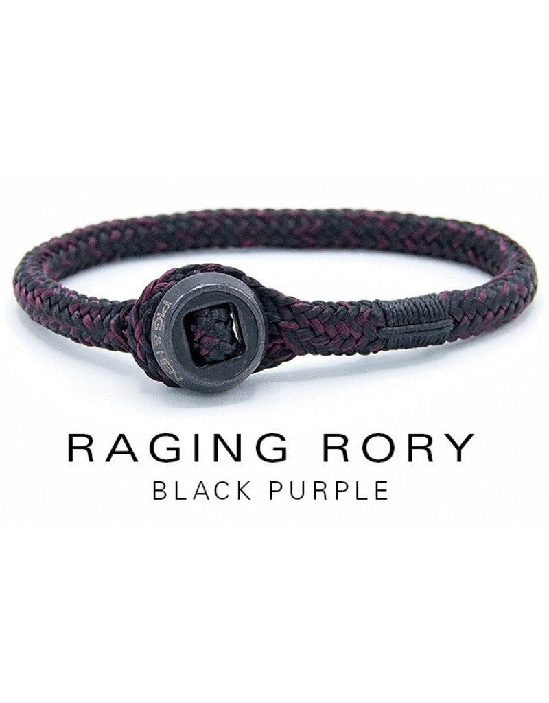 Juwelen RAGING RORY BLACK PURPLE MEDIUM