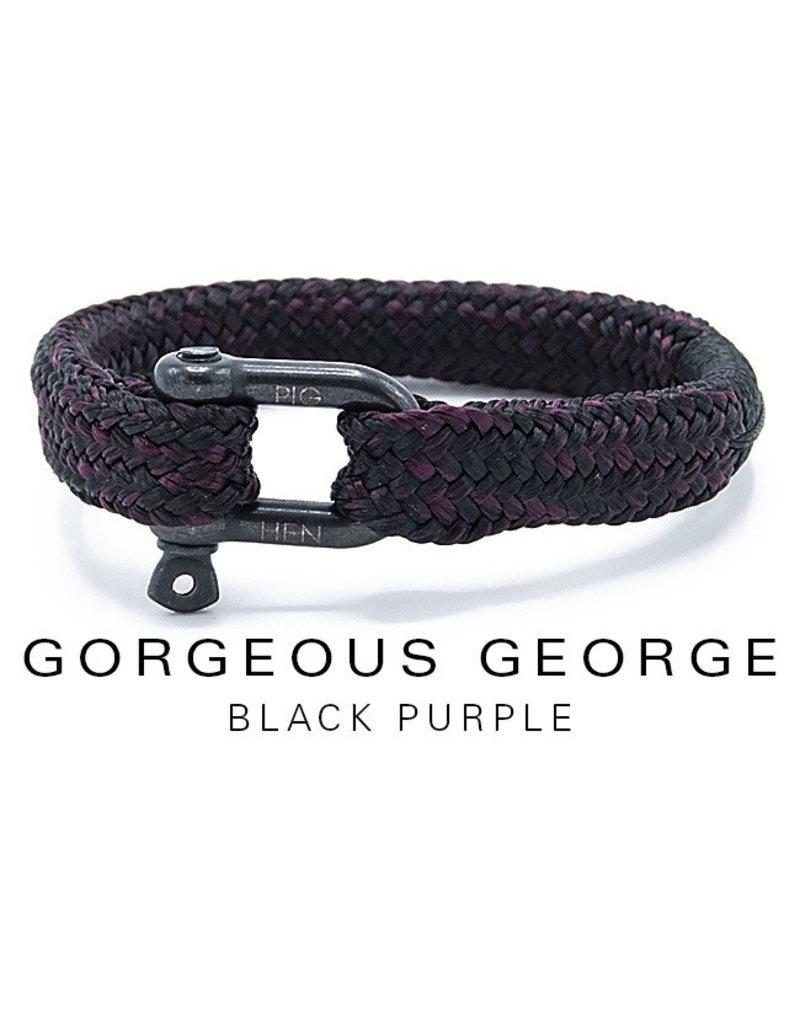 Juwelen GORGEOUS GEORGE BLACK PURPLE MEDIUM