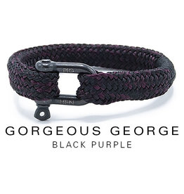 Juwelen GORGEOUS GEORGE BLACK PURPLE LARGE