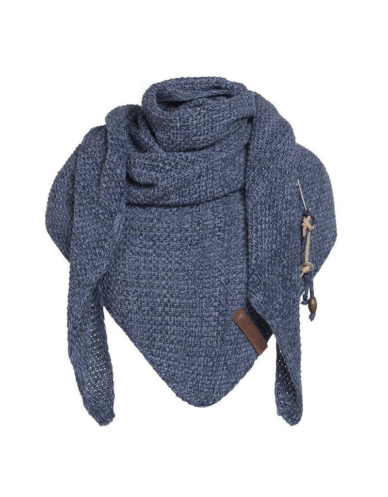 textiel COCO OMSLAGDOEK 190X85CM JEANS/INDIGO