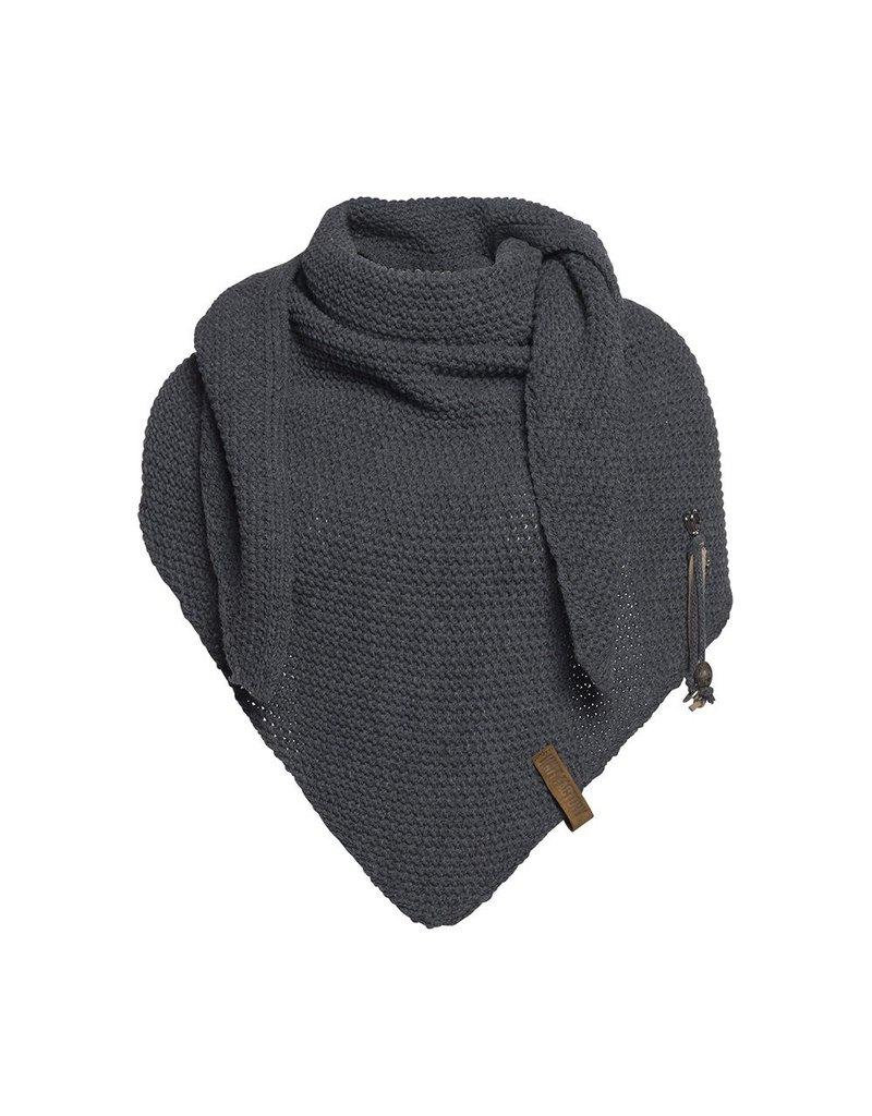 textiel COCO OMSLAGDOEK 190X85CM ANTRACIET