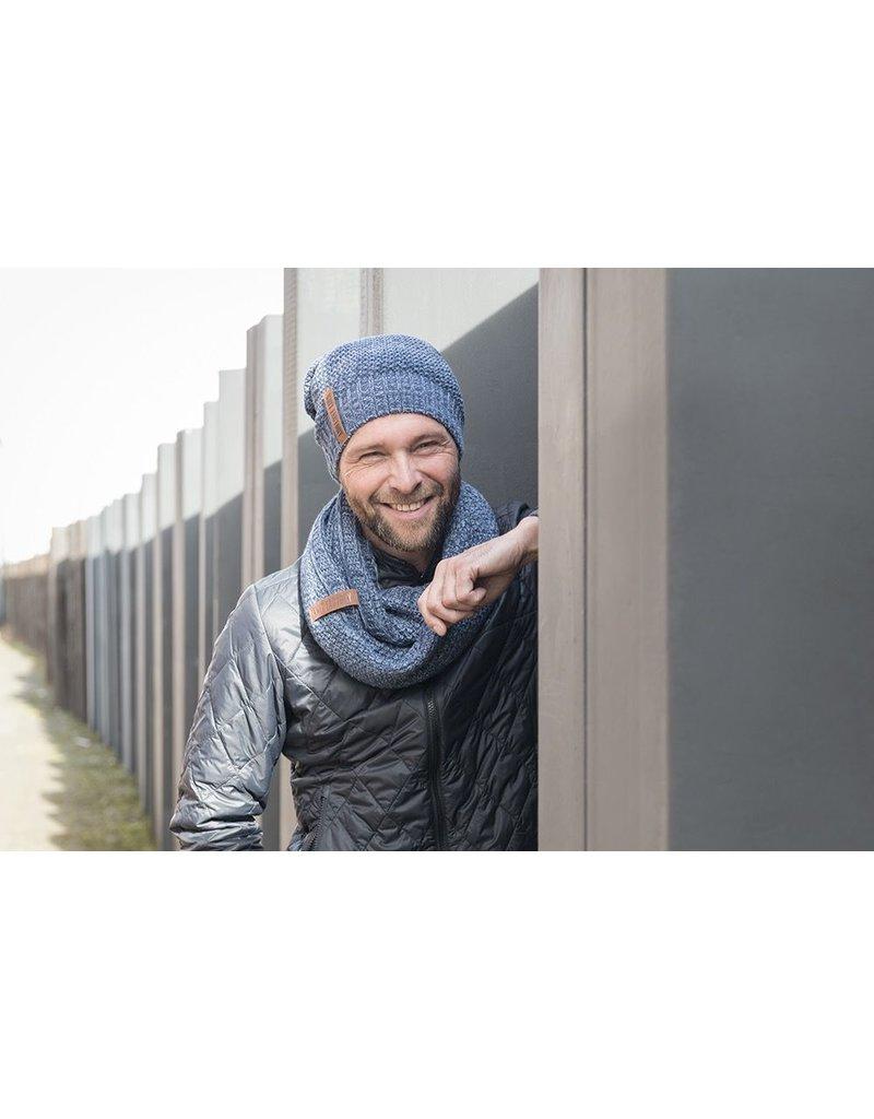 textiel COCO BEANIE JEANS / INDIGO
