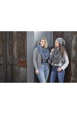 textiel COCO BEANIE ANTHRACITE / GRIS CLAIR
