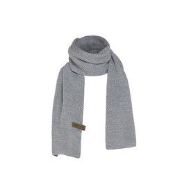 textiel JAZZ SJAAL UNISEKS 200X30CM LICHTGRIJS