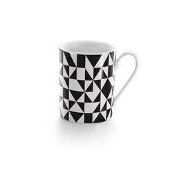 Keukengerei COFFEE MUG GEOMETRIC BLACK