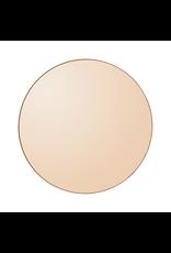 spiegels CIRCUM ROUND MIRROR AMBER DIAMETER 110CM