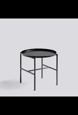 salontafel REBAR SIDE TABLE / SOFT BLACK POWDER COATED STEEL / SOFT BLACK POWDER COATED STEEL / Ø45 X H40.5
