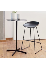 Tafels NEU TABLE HAUT / ROND ANTHRACITE / H95