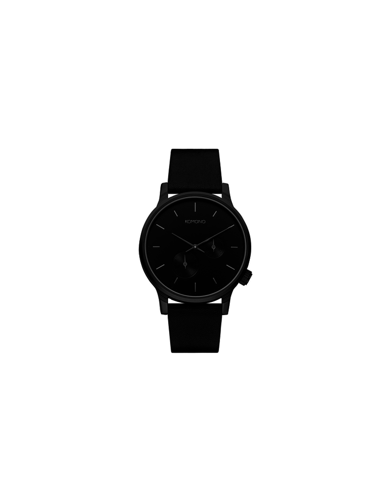 uurwerken WINSTON DOUBLE SUBS BLACK