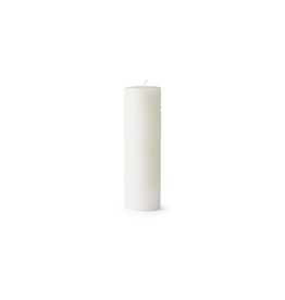 Kaarsen BLOCK CANDLE COLUMN WHITE