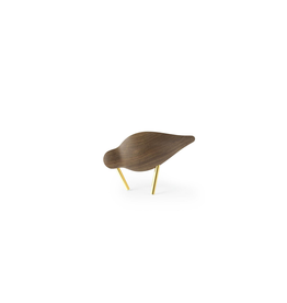 decoratie SHOREBIRD SMALL WALNUT BRASS