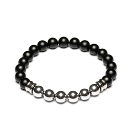 Juwelen Melas Black/Silver M