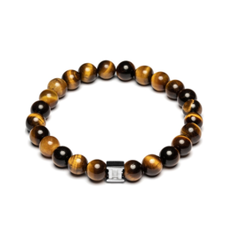 Juwelen CLASSIC 8MM TIGER EYE S