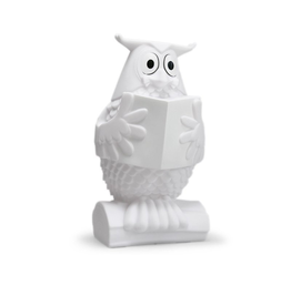 Gadgets LINE THE OWL WHITE NIGHT LIGHT LUMINAIRE RECHARGE USB