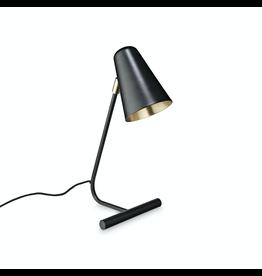 verlichting LAMPE DE TABLE A / SHADE H45CM NOIR MAT