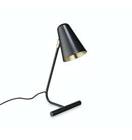 verlichting TABLE LAMP W/SHADE H45CM MATT BLACK