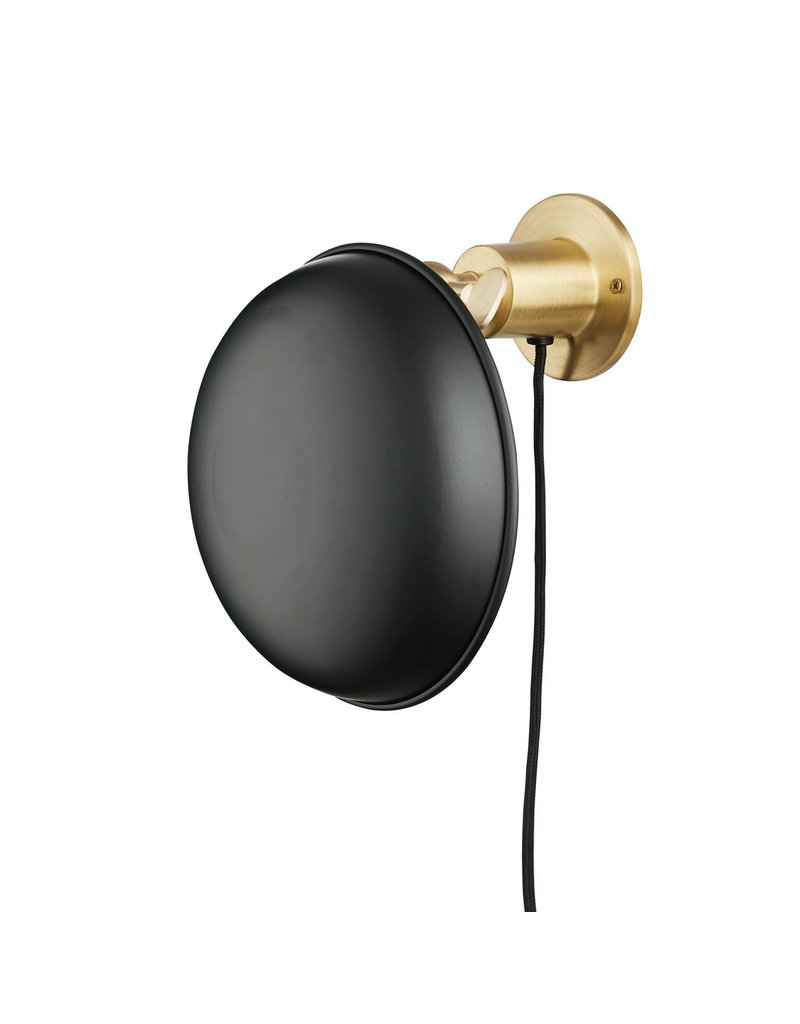 verlichting LAMPE MURALE ROND LAITON W. NUANCE NOIRE