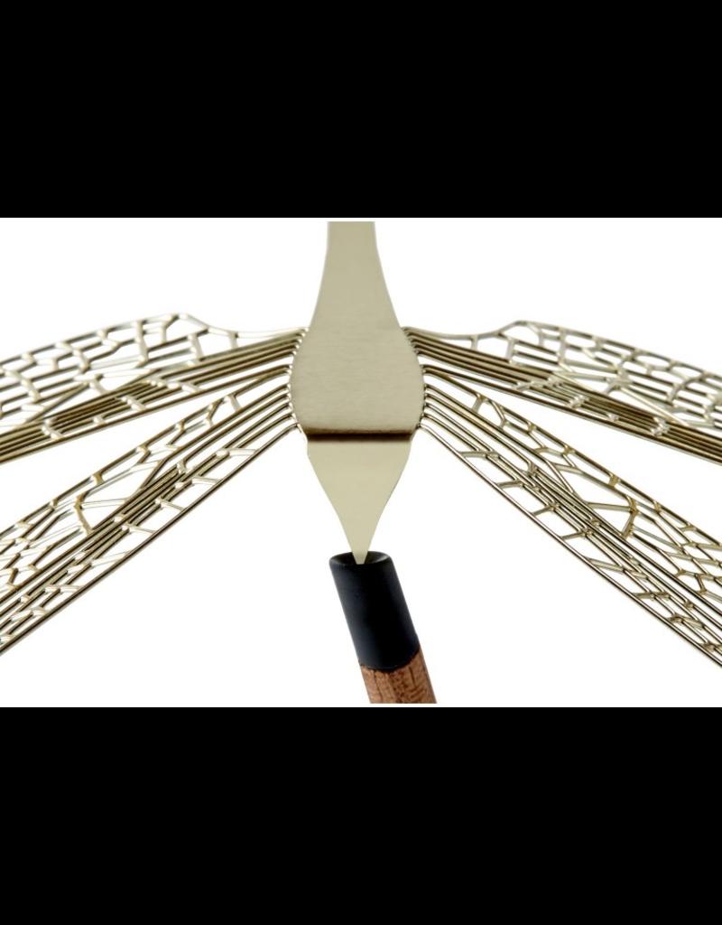 decoratie Merveille libellule 1pcs s - laiton