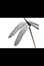 decoratie Merveille libellule 1pcs l - noir