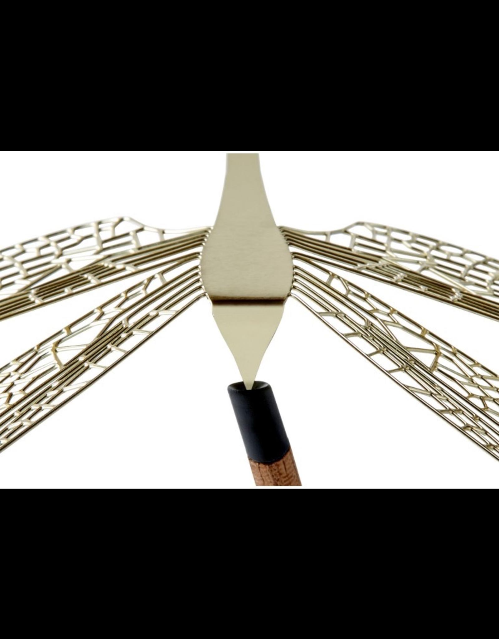 decoratie Merveille libellule 1pcs l - laiton