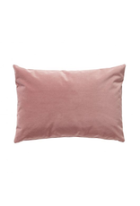 kussens CUSHION WITHOUT FILLER, VELOUR, ROSE, 60X40CM