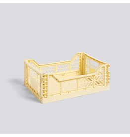 Opslag COLOUR CRATE / M LIGHT YELLOW