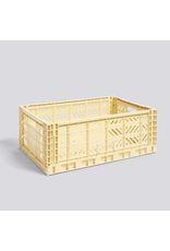 Opslag COLOUR CRATE / L LIGHT YELLOW