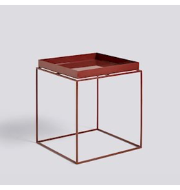 salontafel TRAY TABLE / SIDE TABLE M CHOCOLATE HIGH GLOSS