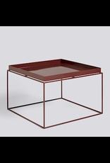 salontafel TRAY TABLE / COFFEE SIDE TABLE CHOCOLATE HIGH GLOSS