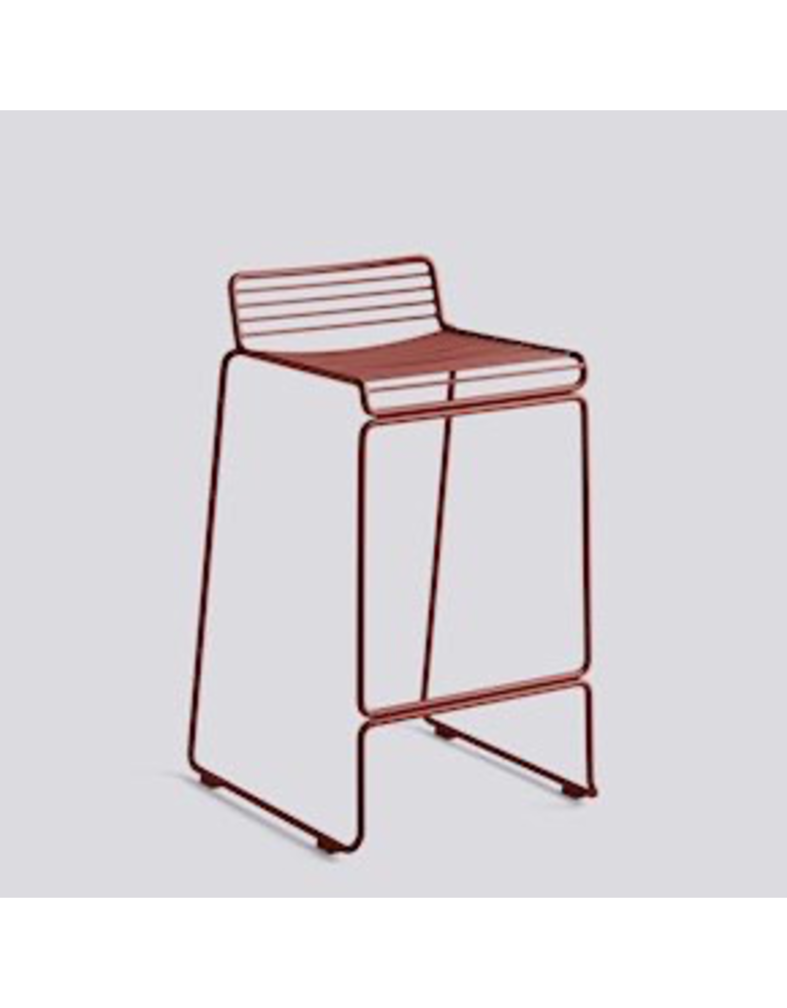 Stoelen HEE BAR STOOL / LOW RUST