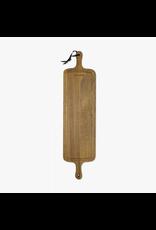 Keukengerei WOODEN BBQ BOARD / XL SLIM FIT - SMOKED OAK (19X78CM)