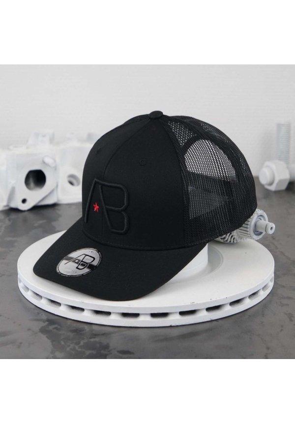 AB Retro Trucker Cap Black