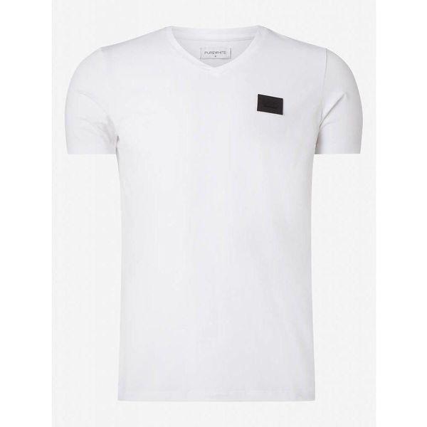 Purewhite Essential Basic  V-Neck White