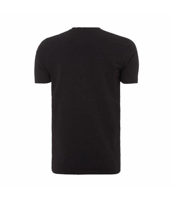 Purewhite Purewhite Essential Basic V-Neck Black