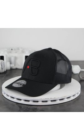 AB-Lifestyle AB Retro Trucker Cap Black