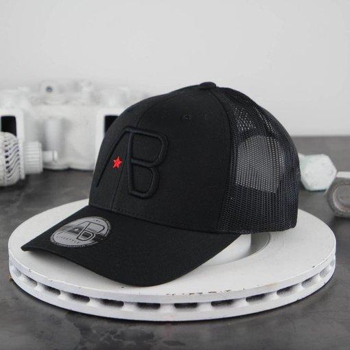 AB-Lifestyle AB Retro Trucker Cap Black