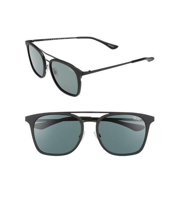 QUAY AUSTRALIA Quay Byron Black Sunglasses