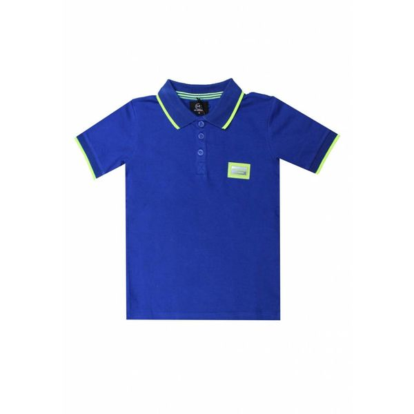 My Brand Colorfull polo Kobalt Blue Kids