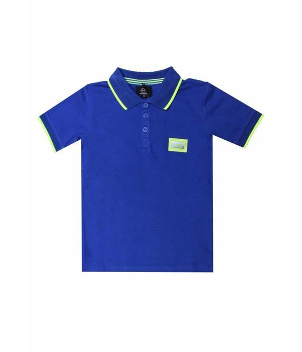 My Brand My Brand Colorfull polo Kobalt Blue Kids