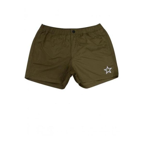 Airforce Swim Short Basic Outline Dark Olive Green