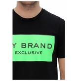 My Brand My Brand Logo Branding T-shirt Black/Green