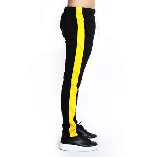 Radical Trackpants Black/yellow