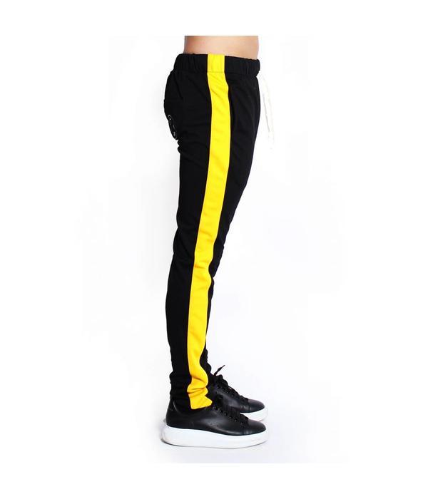 Radical Radical Trackpants Black/yellow