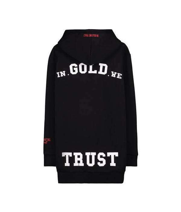 In Gold We Trust IGWT LOGO Hoodie Black/Black
