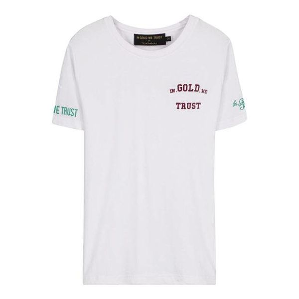 IGWT Women Logo T-Shirt White